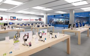 SERENA STONE OF FIRENZUOLA WITHIN THE APPLE SHOPS