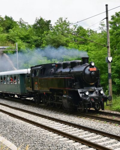 Steam train Marradi