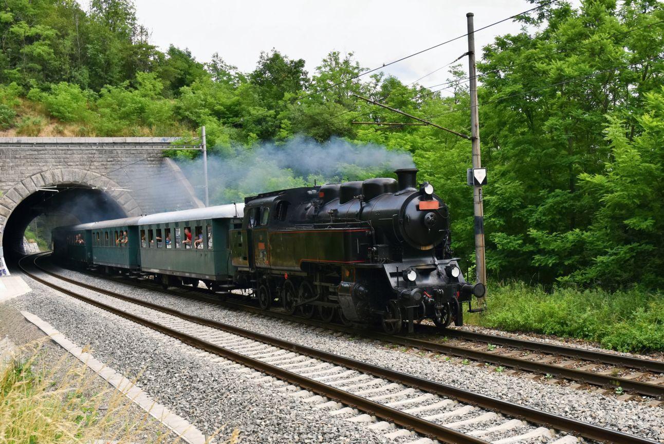 Steam train Marradi