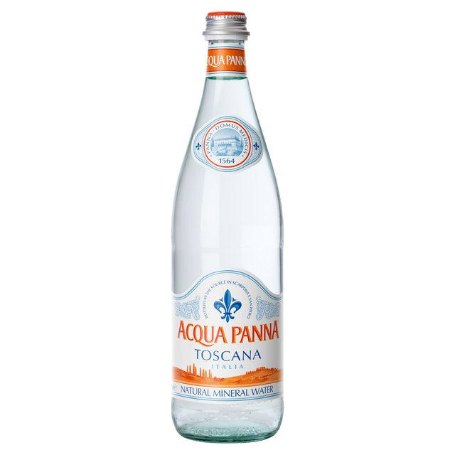bottiglia acqua panna